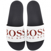 BOSS Athleisure Solar Sliders Navy